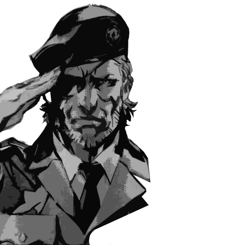 10 New Big Boss Salute Wallpaper FULL HD 1920×1080 For PC Desktop 2018 free download naked snake big boss metal gear solid 3 snake eater 800x800