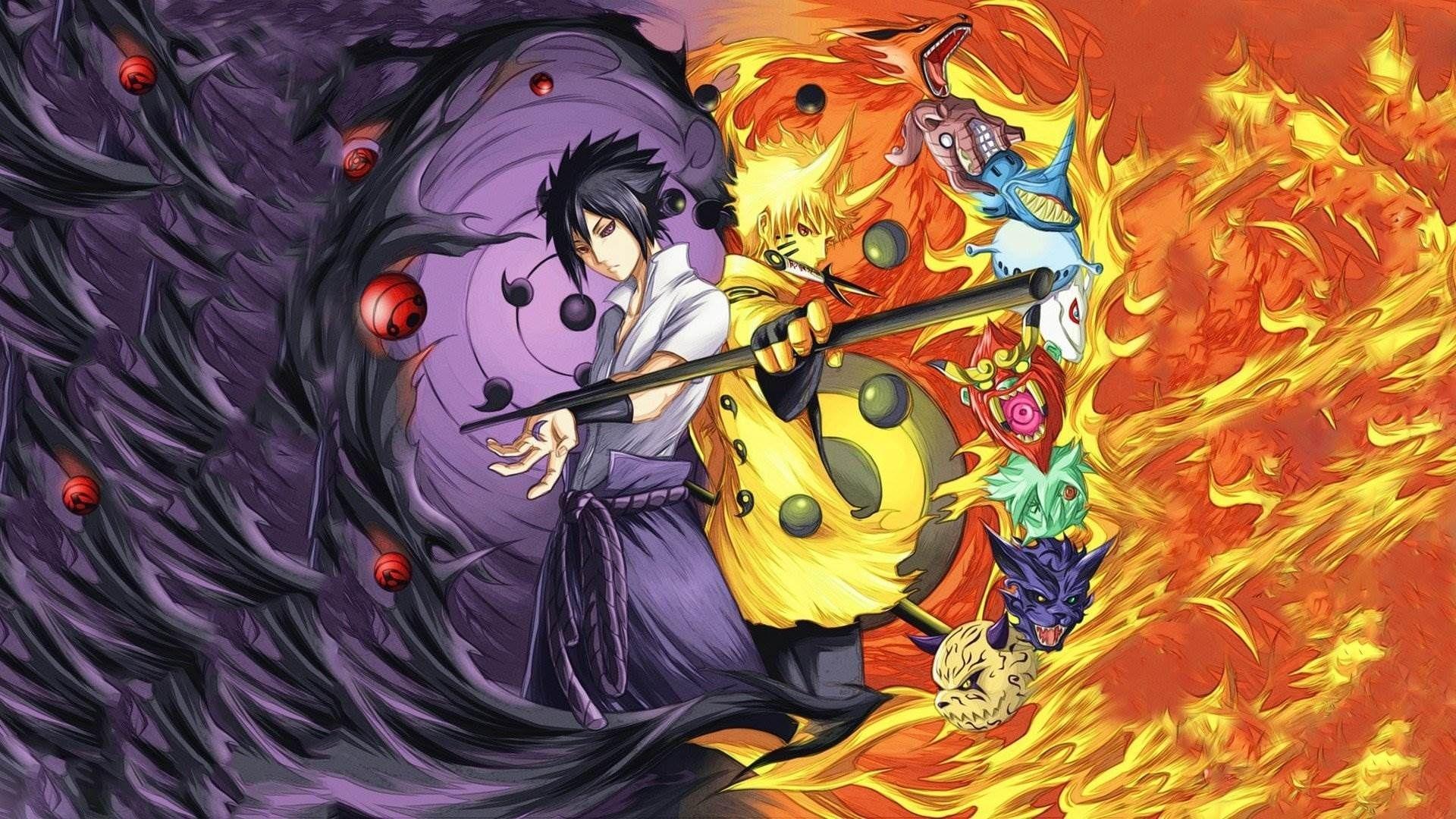 naruto and sasuke wallpaper 1366×768 naruto sasuke wallpapers