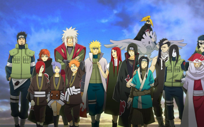 10 Best Naruto All Characters Wallpaper FULL HD 1080p For PC Desktop 2018 free download naruto characters wallpapers wallpaper cave 800x500