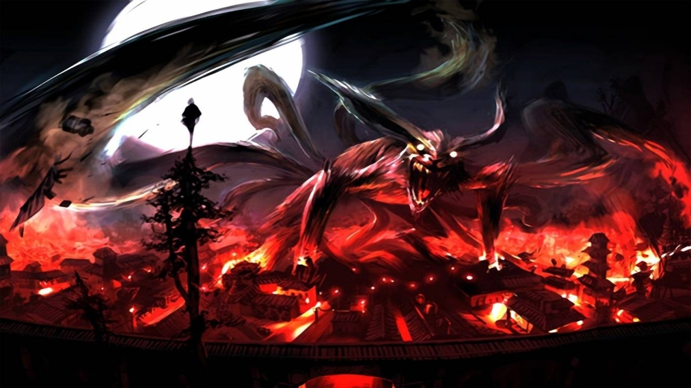 naruto nine tails wallpapers - wallpaper cave