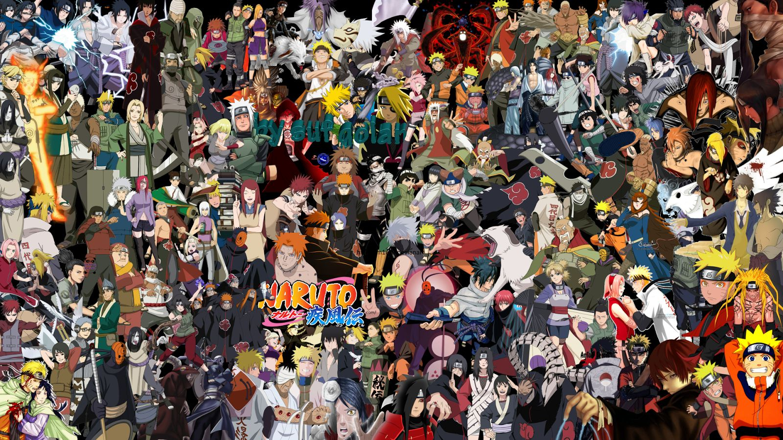 naruto shippuden all characters wallpapers - wallpaper cave
