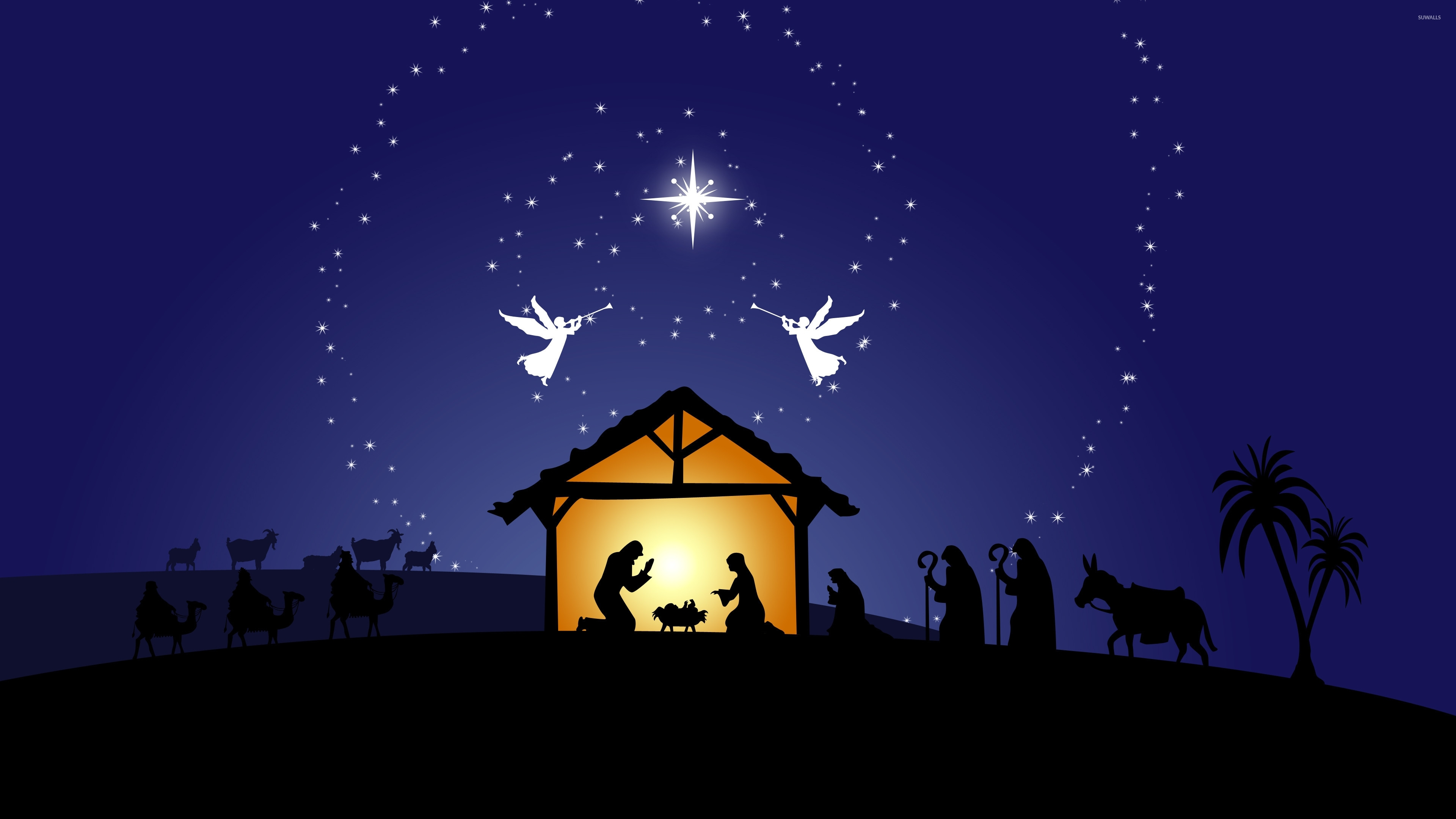 nativity scene wallpaper (44+ images)