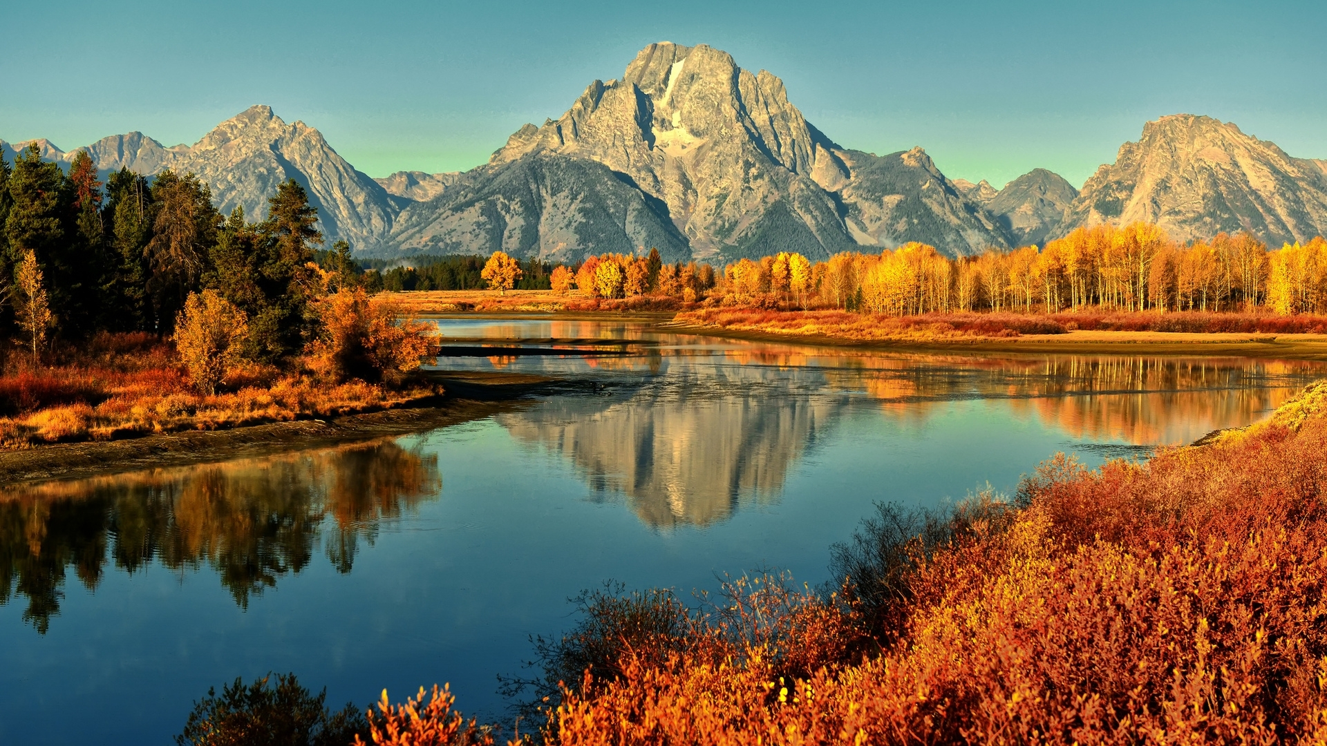 nature & landscape autumn mountains wallpapers (desktop, phone