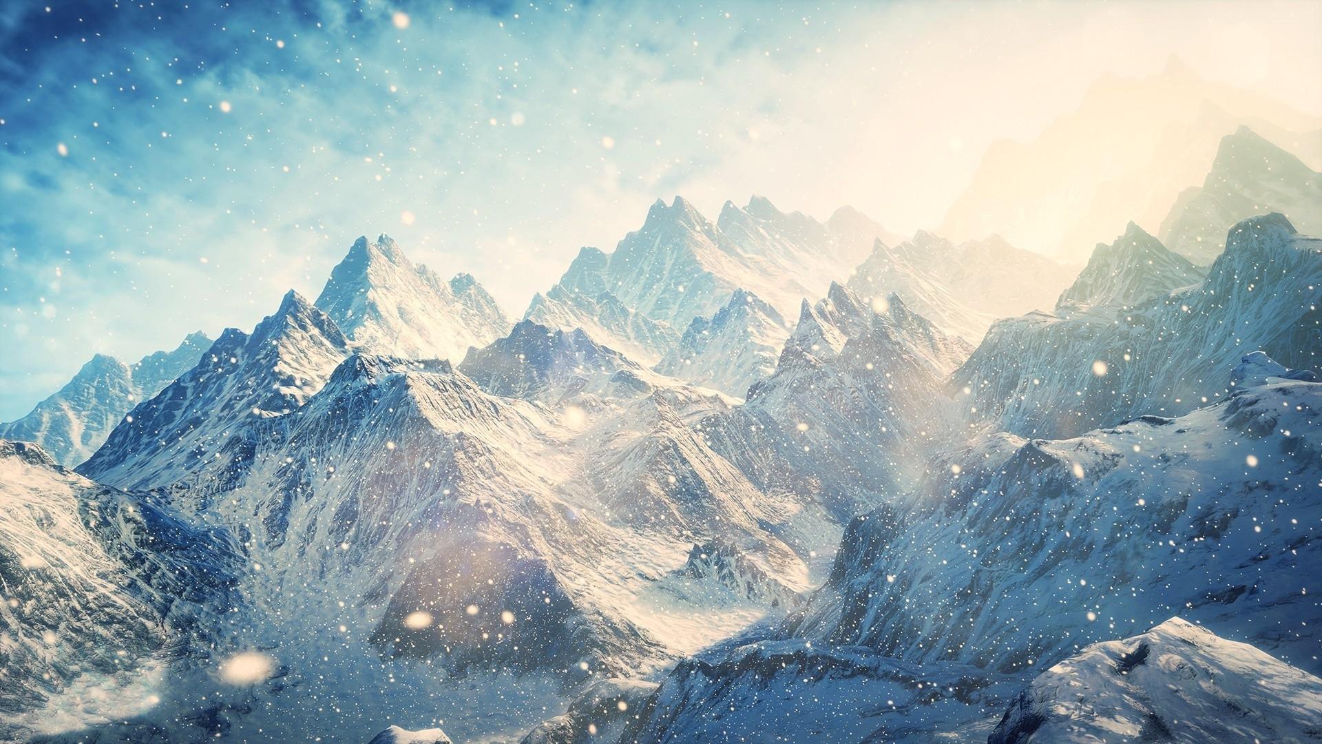 nature & landscape snow mountains wallpapers (desktop, phone, tablet