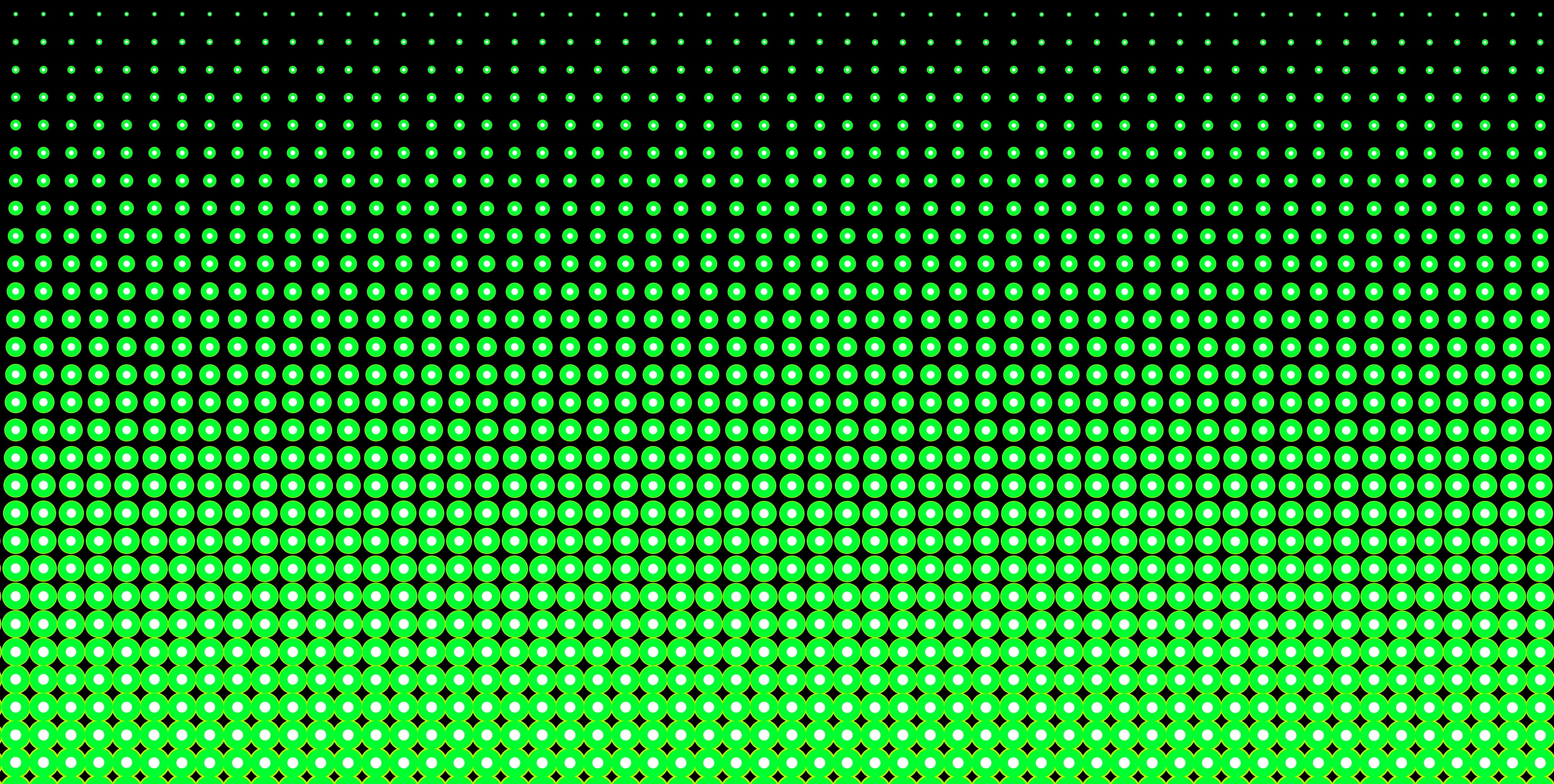 neon green and black halftone pattern - free clip art