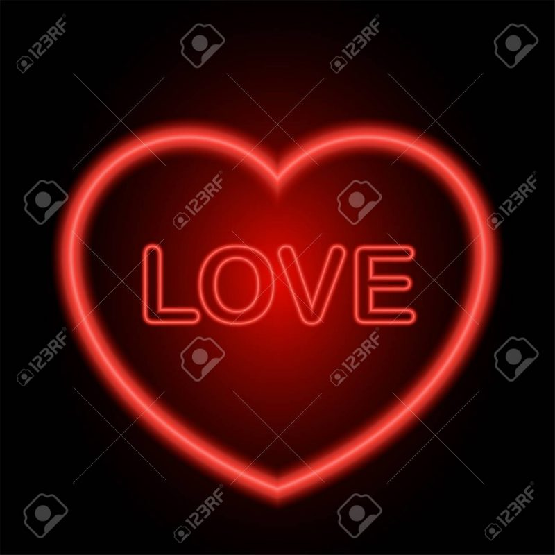 10 Most Popular Red Heart On Black Background FULL HD 1080p For PC Desktop 2018 free download neon red heart for valentine day on black background stock photo 800x800