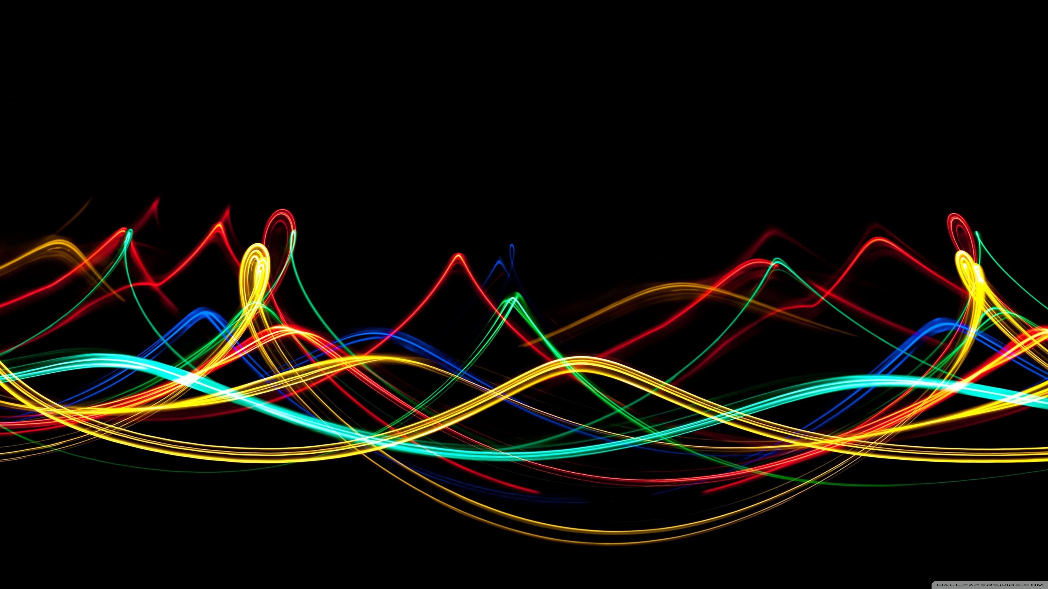 neon waves ❤ 4k hd desktop wallpaper for 4k ultra hd tv • wide