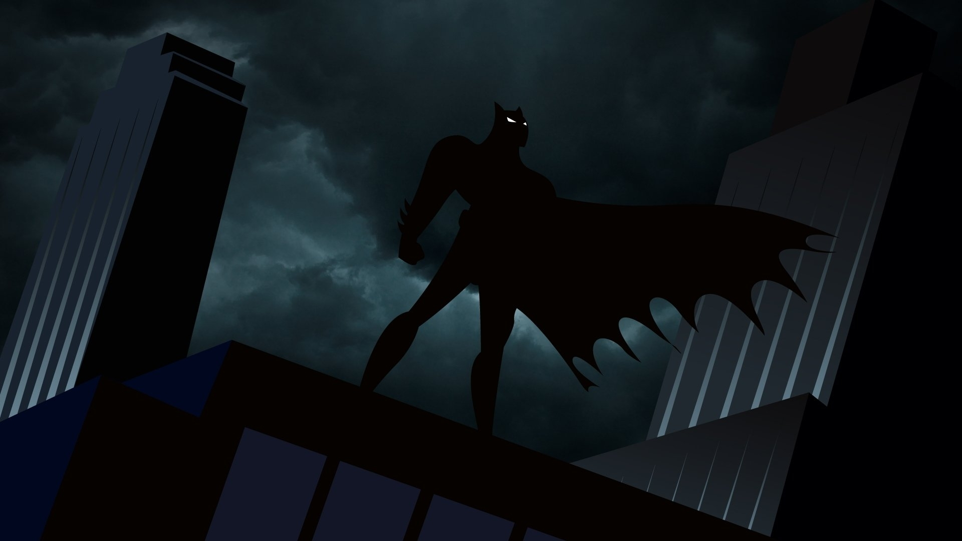 new batman animated wallpaper desktop collection - anime wallpaper hd