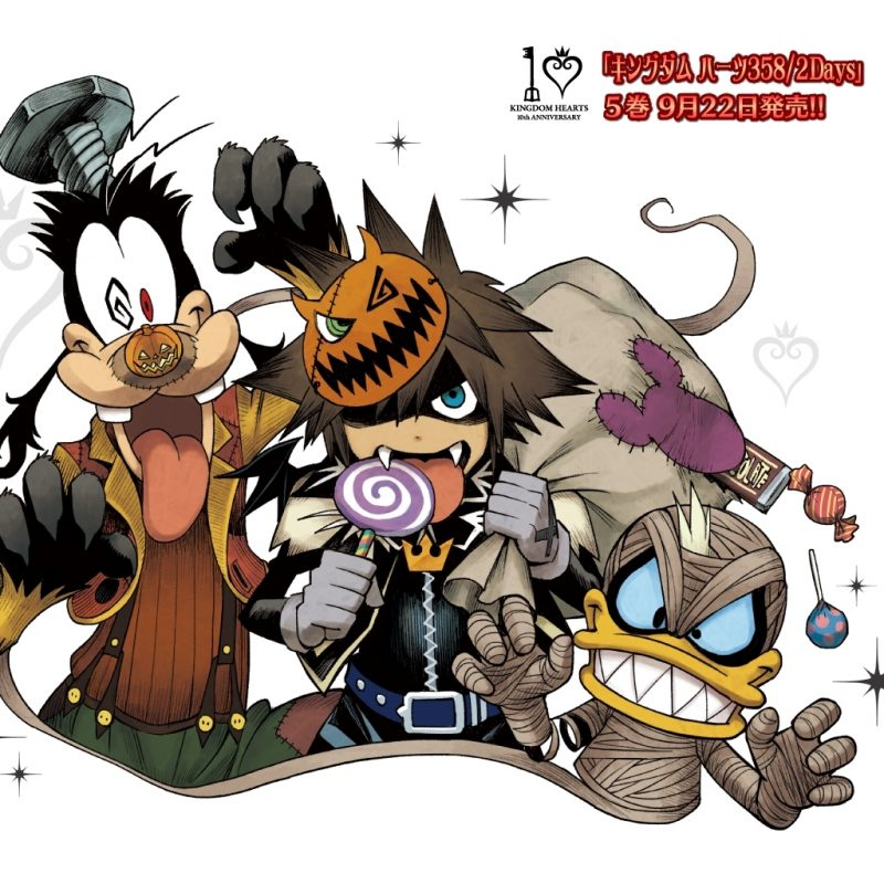 10 Top Kingdom Hearts Halloween Wallpaper FULL HD 1080p For PC Background 2020 free download new kh 10th anniversary wallpapershiro amano news kingdom 800x800
