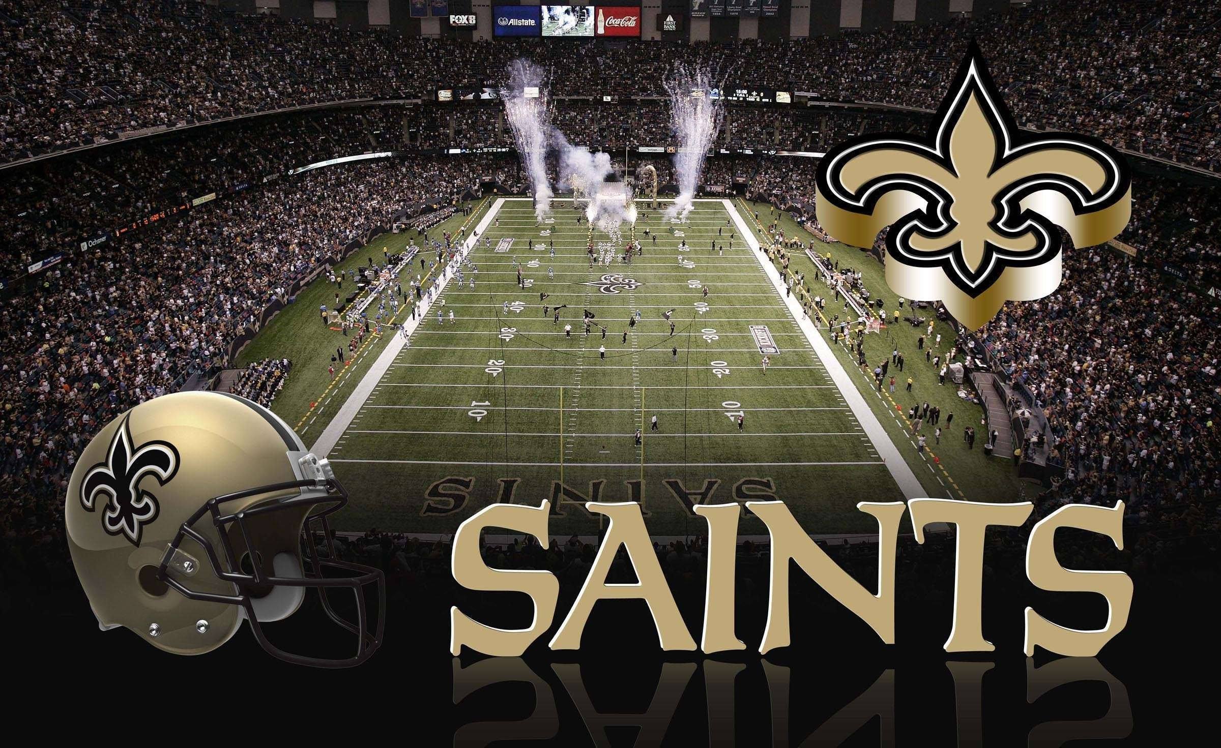 10 Latest New Orleans Saints Background FULL HD 1080p For ...