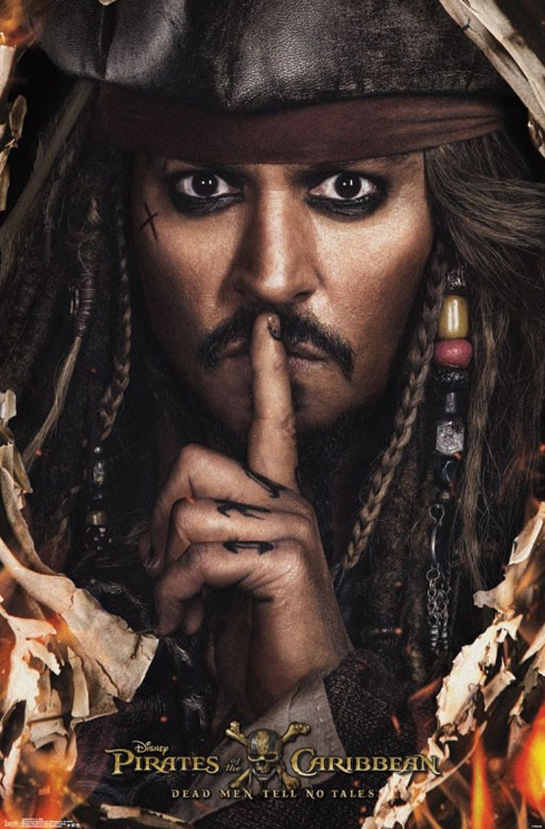 new poster of johnny depp as captain jack sparrow | cultjer