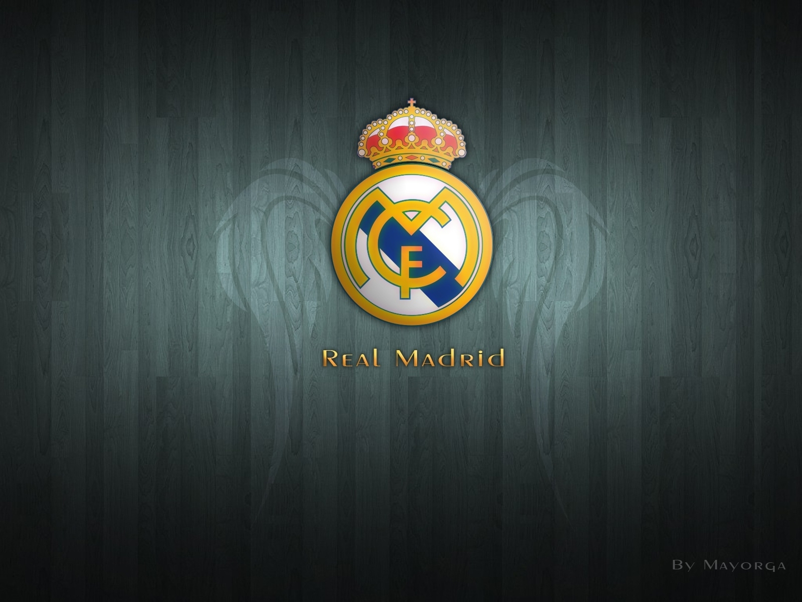 new real madrid logo hd wallpaper | real madrid | pinterest | real