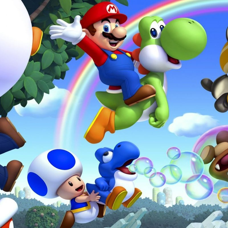 10 Best Mario Bros Wallpaper Hd FULL HD 1080p For PC Background 2020 free download new super mario bros u full hd fond decran and arriere plan 1 800x800