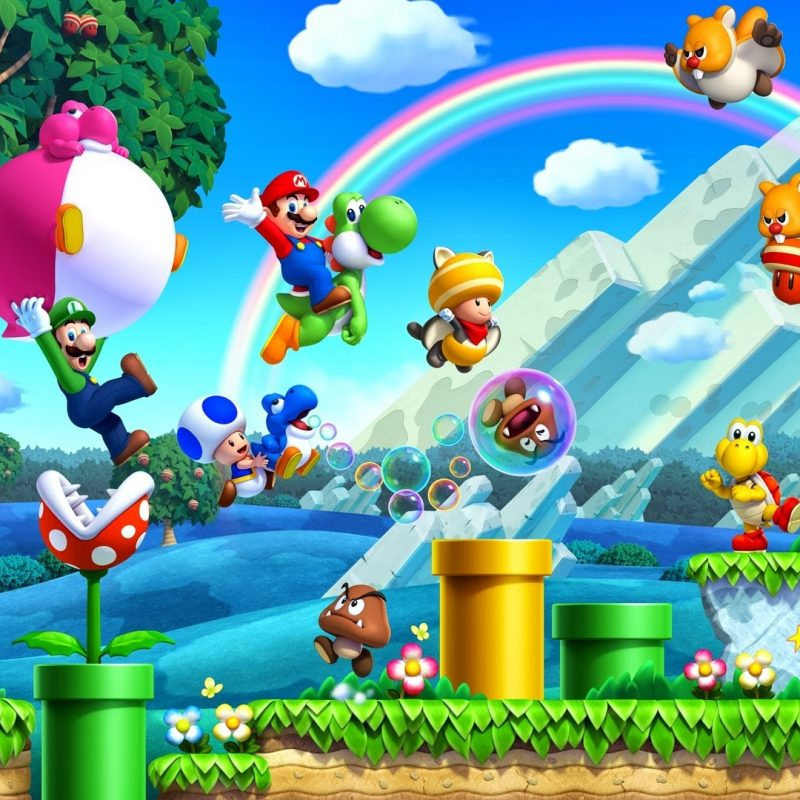 10 Latest Super Mario Bros Wallpaper Hd FULL HD 1080p For PC Desktop 2018 free download new super mario bros u wallpaper full hd fond decran and arriere 800x800