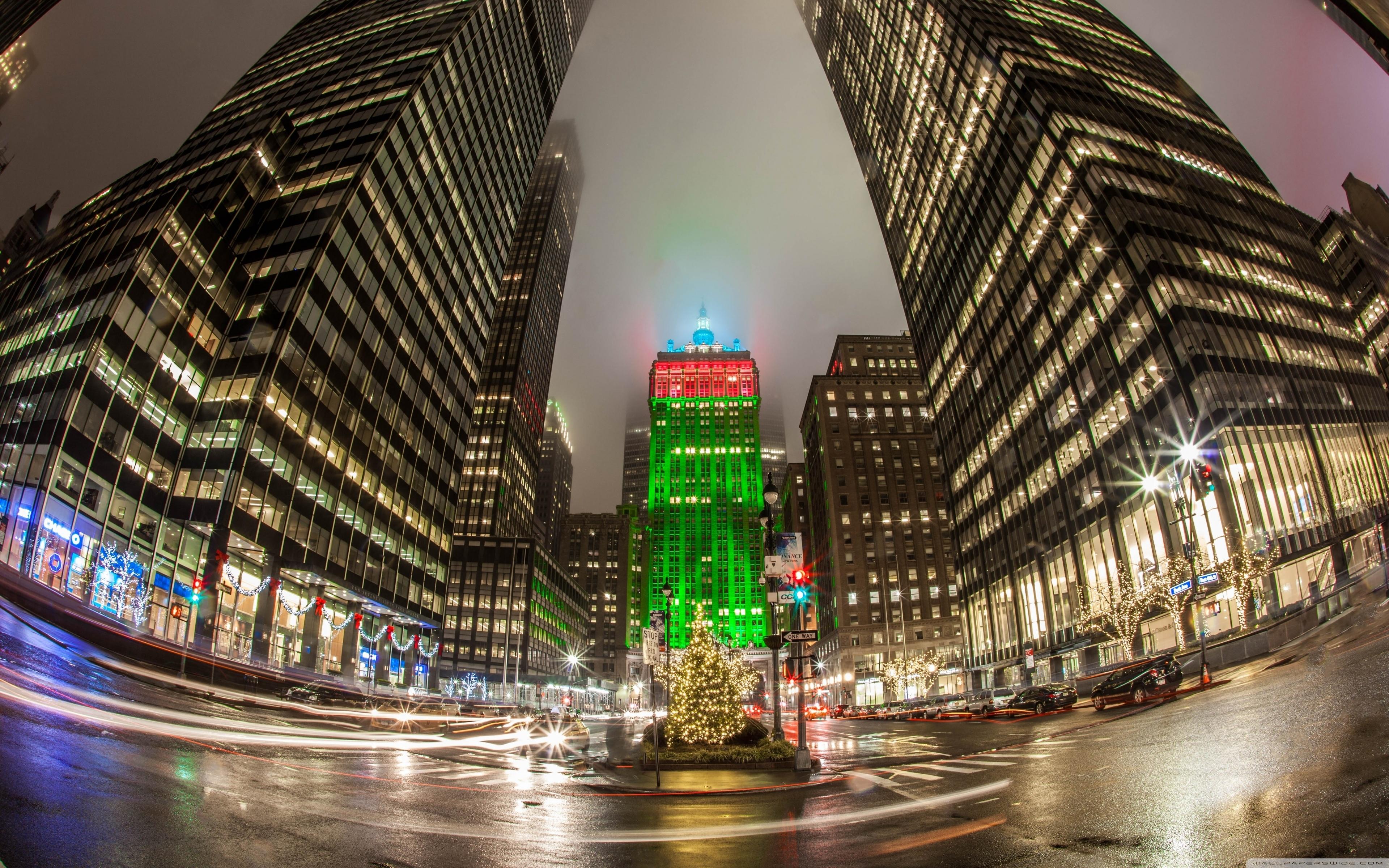 new york city christmas time ❤ 4k hd desktop wallpaper for 4k ultra