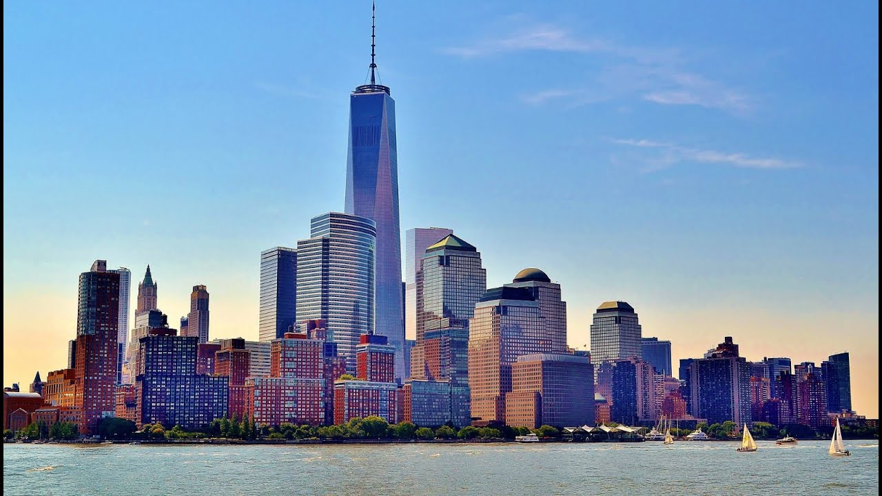new york skyline time lapse collection: amazing manhattan video for