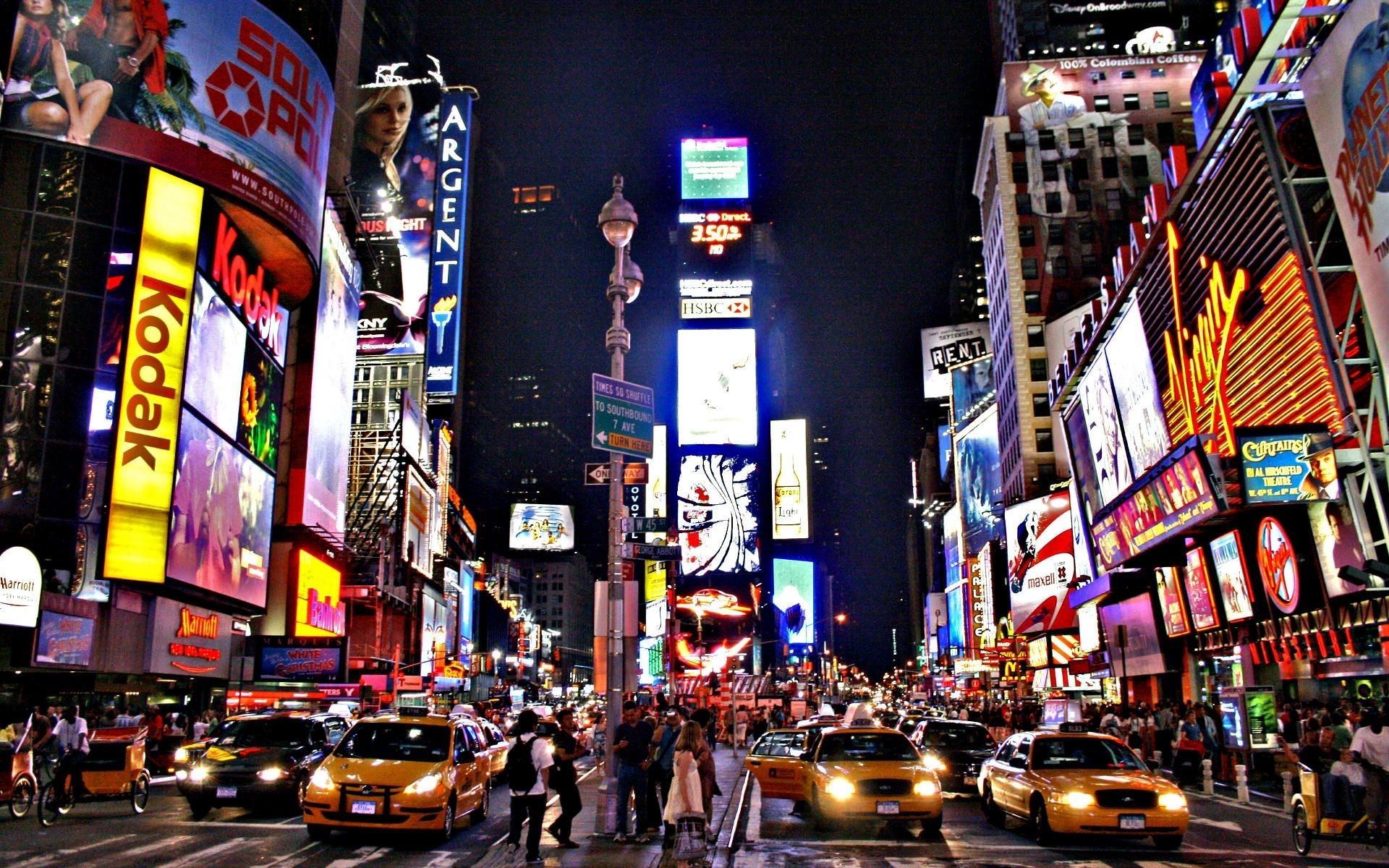 new york street night wallpaper | things i want | pinterest