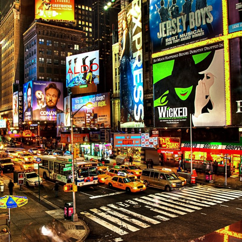 10 Top New York Streets At Night Wallpaper FULL HD 1080p For PC Background 2020 free download new york streets in night hdwallpaperfx 800x800