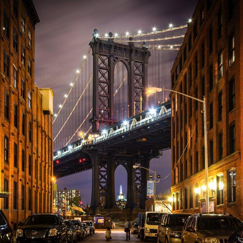 10 Top New York Streets At Night Wallpaper FULL HD 1080p For PC Background 2020 free download new york usa manhattan manhattan bridge bridge buildings streets 800x800