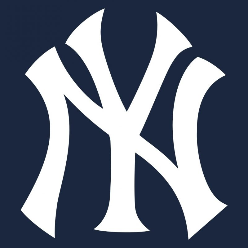 10 Top New York Yankees Logo Wallpapers FULL HD 1920×1080 For PC Desktop 2021 free download news scores and statistics about the new york yankees of the 800x800