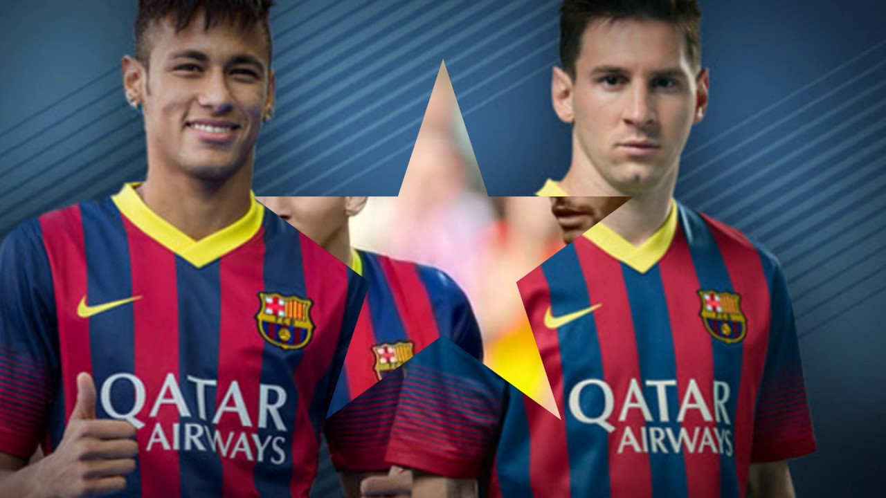 neymar & messi wallpaper - youtube