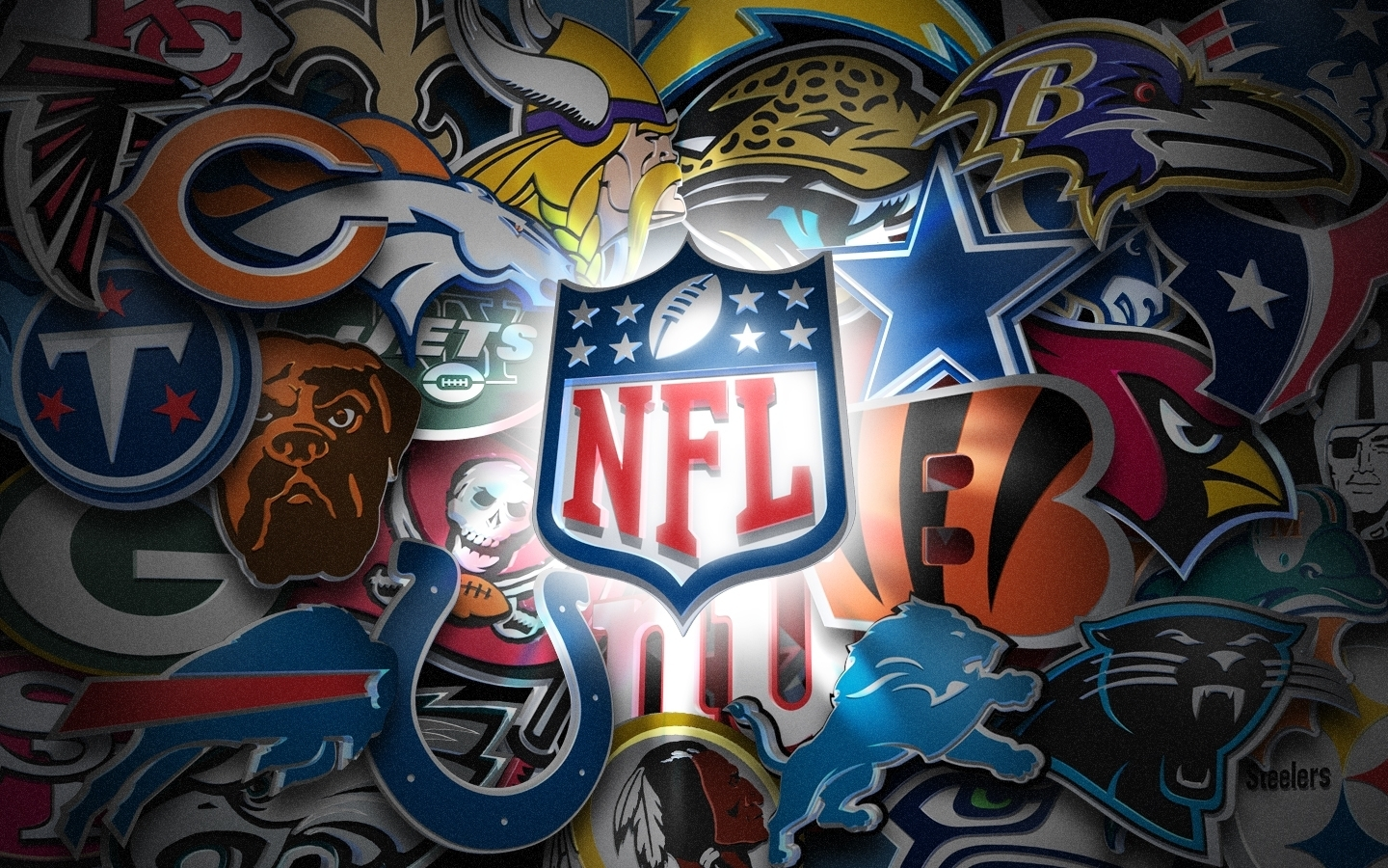 nfl teams logo wallpaper 1440×900 - high definition wallpaper