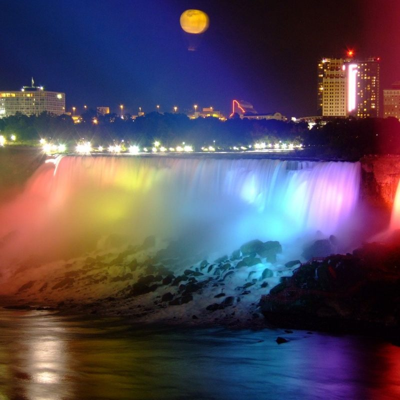 10 Most Popular Niagara Falls At Night Hd FULL HD 1920×1080 For PC Desktop 2021 free download niagara falls is the collective name for three waterfalls that 800x800