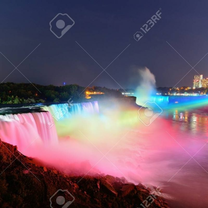 10 Most Popular Niagara Falls At Night Hd FULL HD 1920×1080 For PC Desktop 2018 free download niagara falls lit at nightcolorful lights stock photo picture 800x800