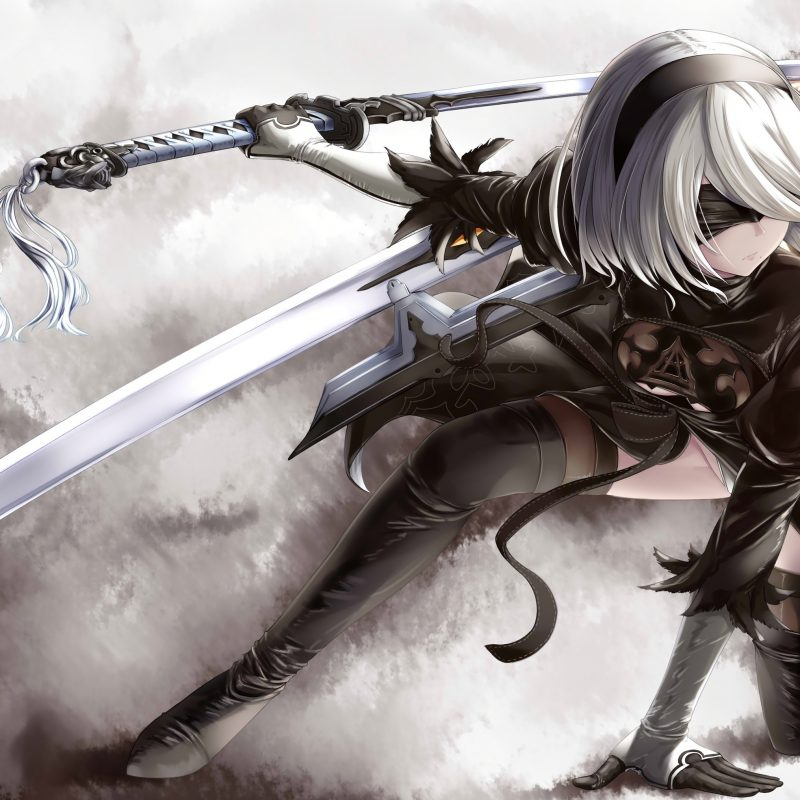 10 Most Popular Nier Automata 4K Wallpaper FULL HD 1920×1080 For PC Background 2018 free download nier automata 4k hd games 4k wallpapers images backgrounds 800x800