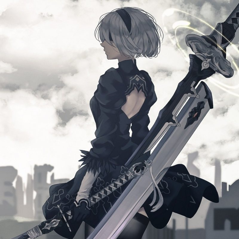 10 Most Popular Nier Automata Wallpaper 2B FULL HD 1920×1080 For PC Background 2018 free download nier automata full hd fond decran and arriere plan 1920x1080 800x800