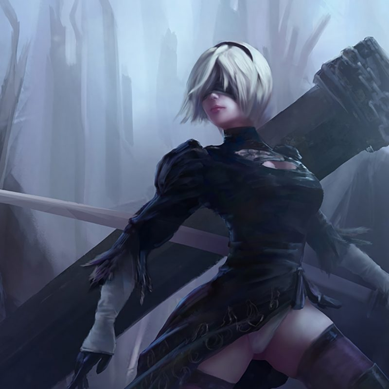 10 Most Popular Nier Automata Wallpaper 2B FULL HD 1920×1080 For PC Background 2018 free download nier automata game 279 wallpapers 800x800