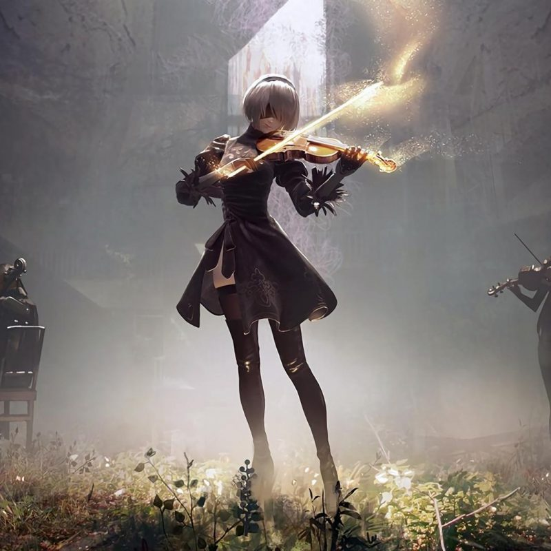 10 New Nier Automata Wallpaper 4K FULL HD 1080p For PC Desktop 2020 free download nier music concert wallpaper nierautomata 1920x1080 imgur 1 800x800
