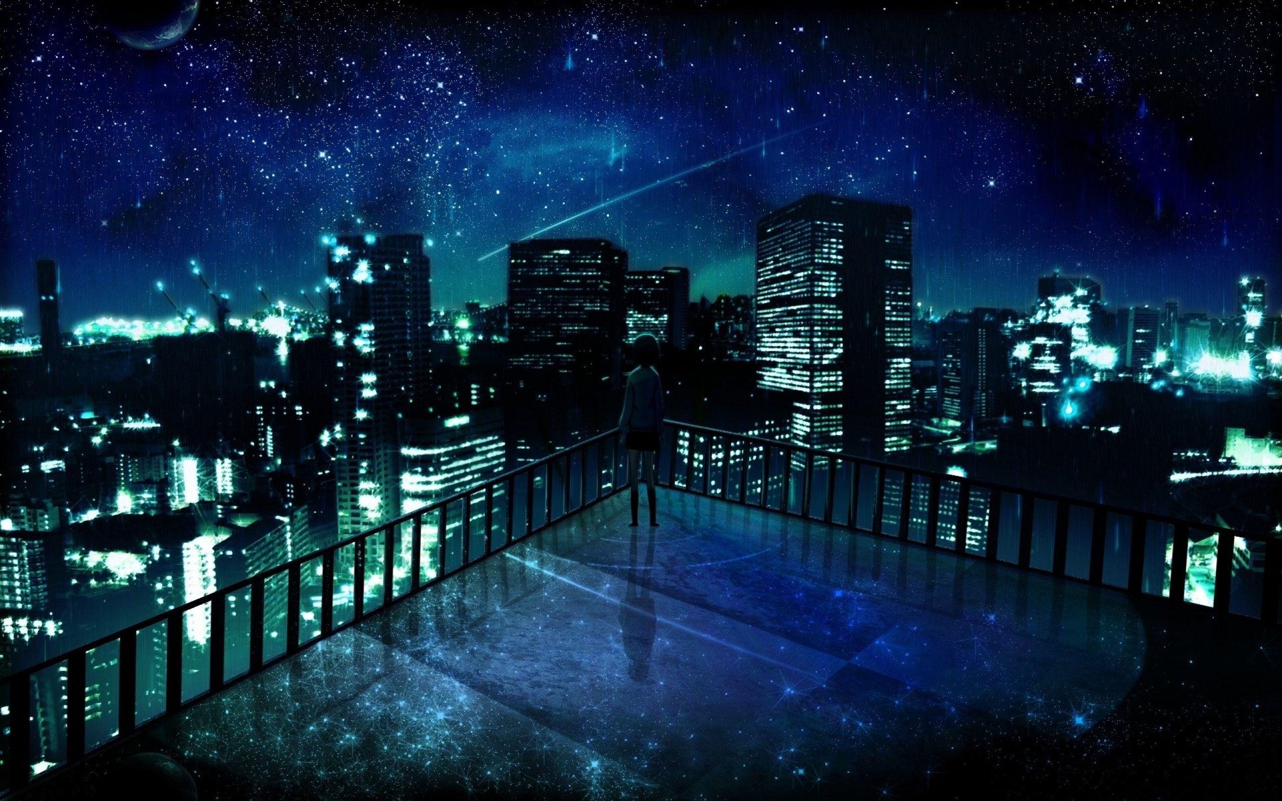 night city anime wallpaper desktop #72722 wallpaper | environment