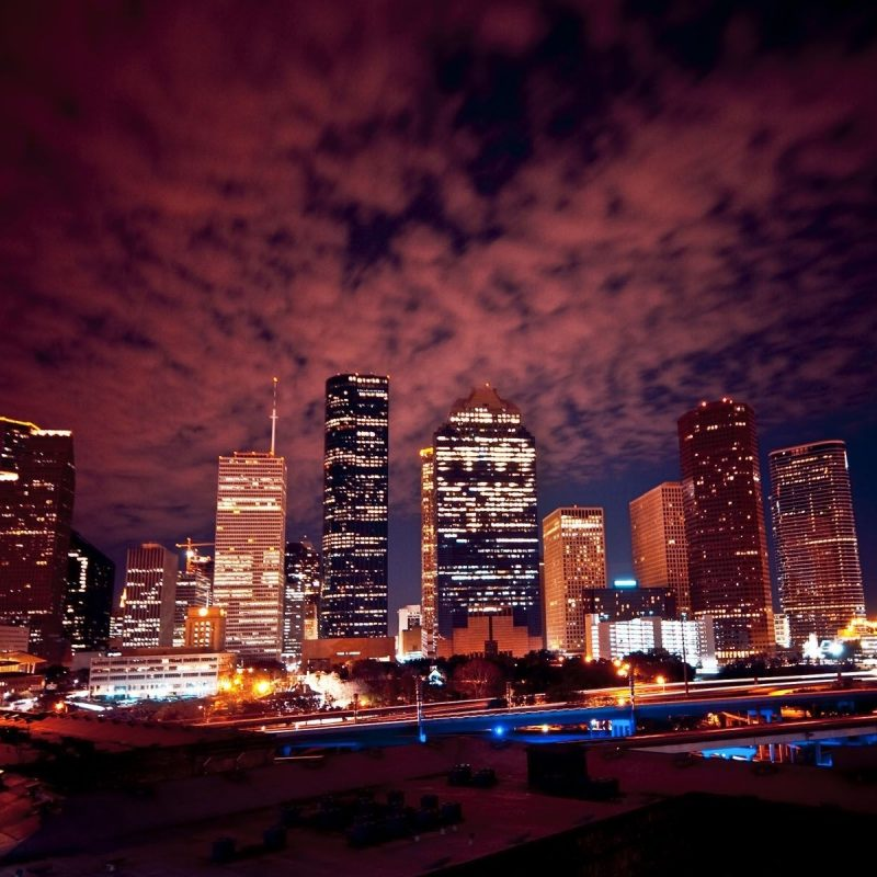 10 Latest Houston Skyline At Night Hd FULL HD 1080p For PC Background 2021 free download night houston skyline wallpaper sharovarka pinterest houston 800x800