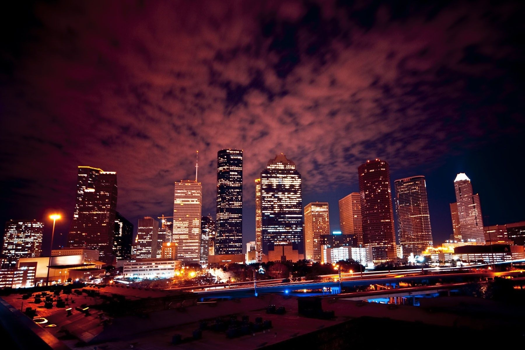 night houston skyline wallpaper | sharovarka | pinterest | houston