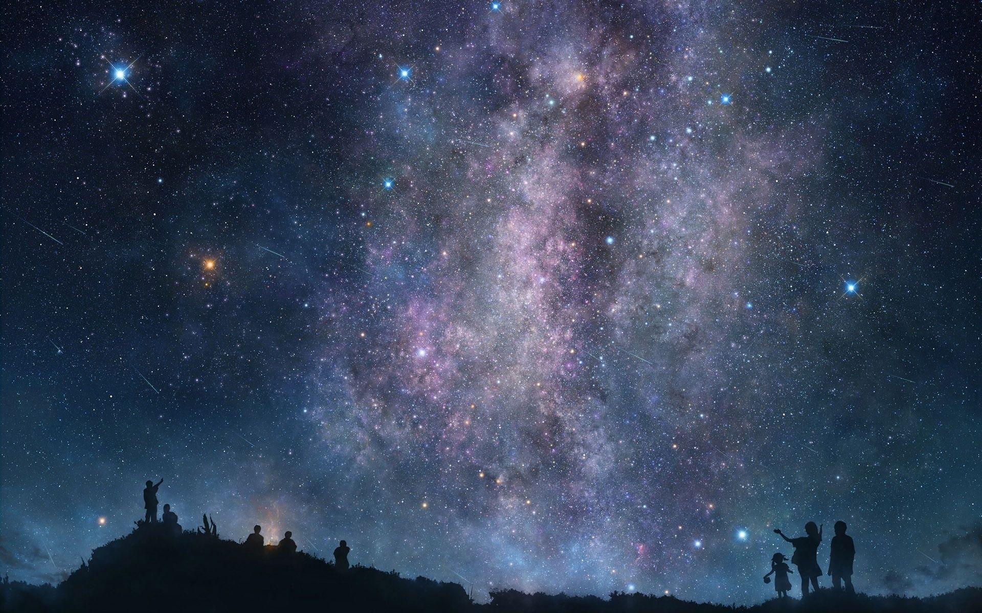 night sky stars wallpaper high definition #jwrat 1920x1200 px 845.91