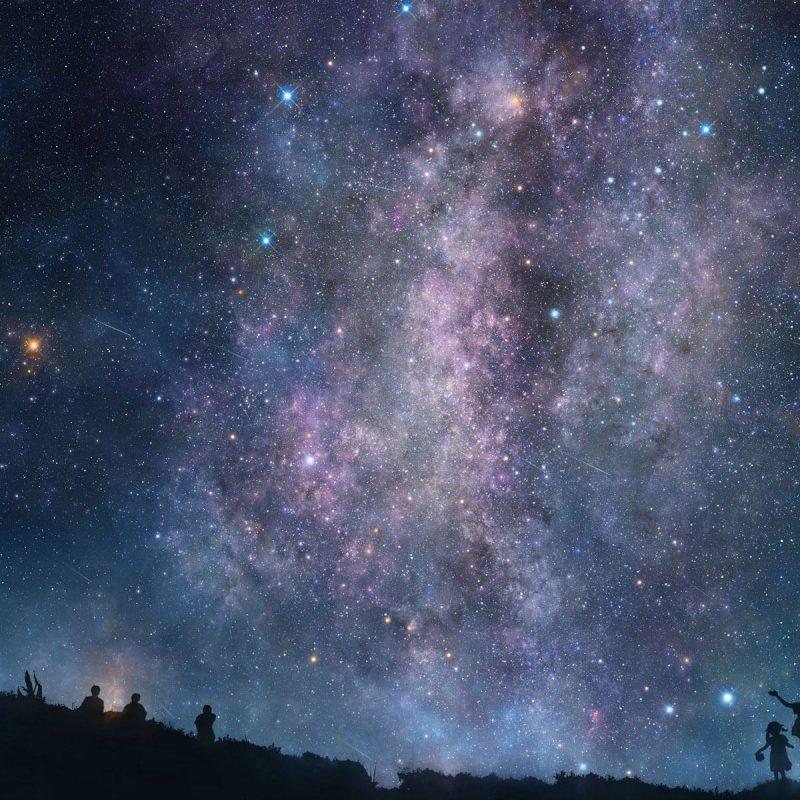 10 New Stars In The Sky Wallpaper FULL HD 1080p For PC Desktop 2021 free download night sky stars wallpaper high definition jwrat 1920x1200 px 845 91 800x800