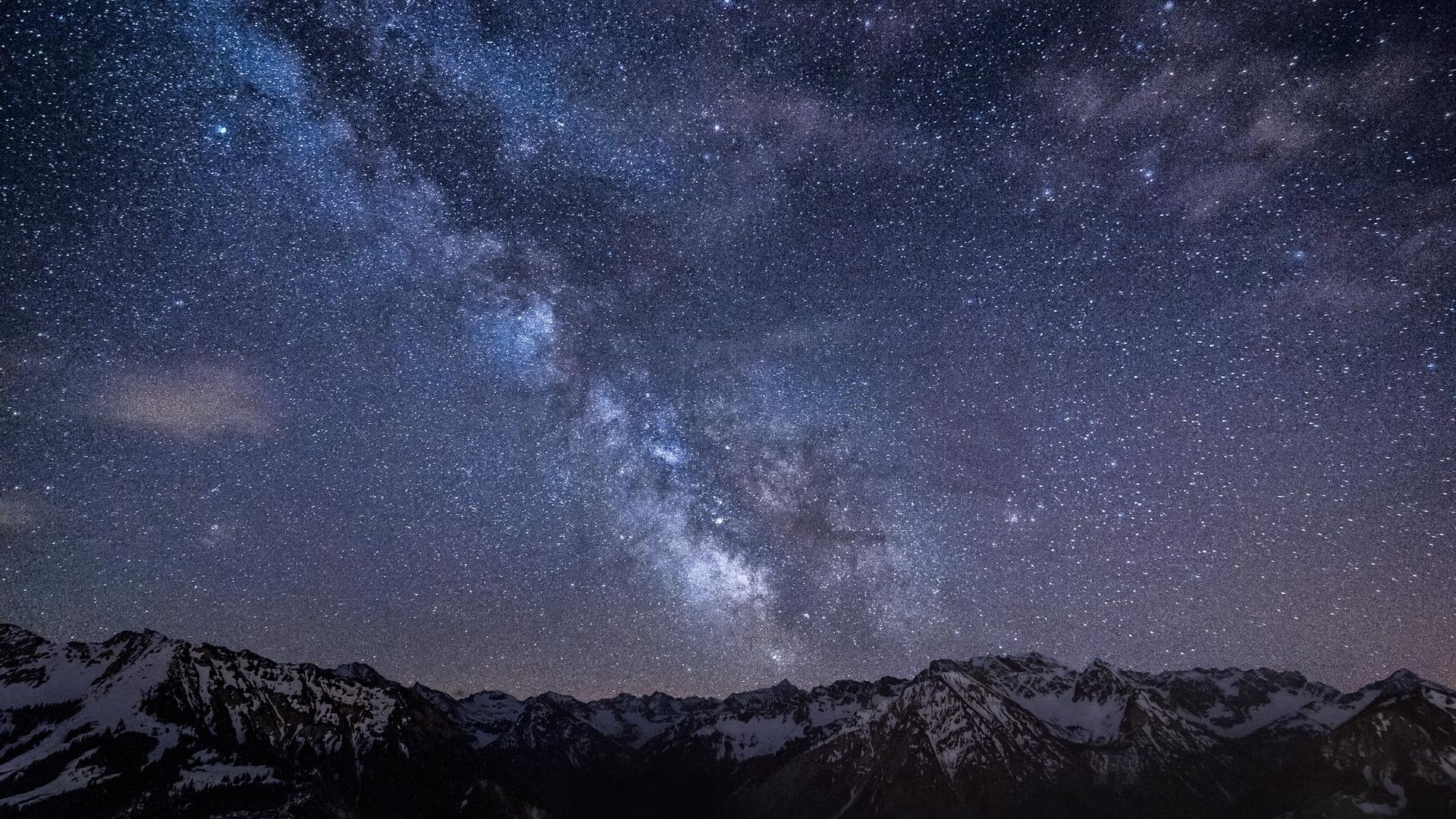 night sky wallpapers, full hd 1080p, best hd night sky pics, desktop