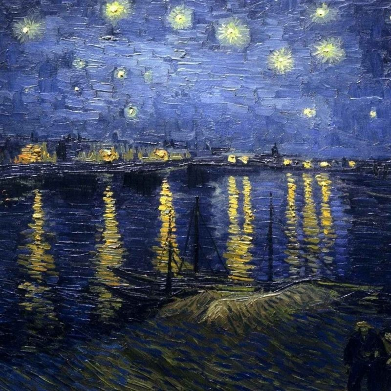 10 New Starry Night Over The Rhone Wallpaper FULL HD 1080p For PC Background 2020 free download night world vincent van gogh starry night over the rhone 1920x1080 800x800
