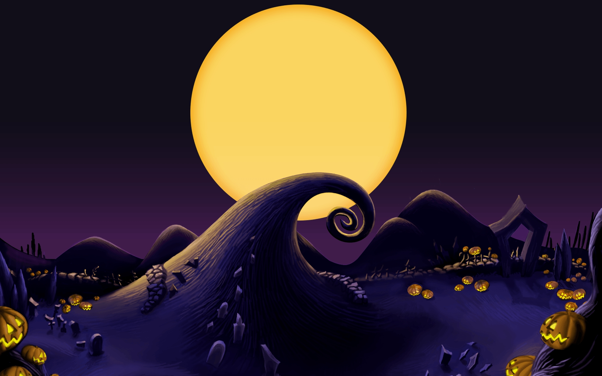 nightmare before christmas backgrounds - wallpaper cave