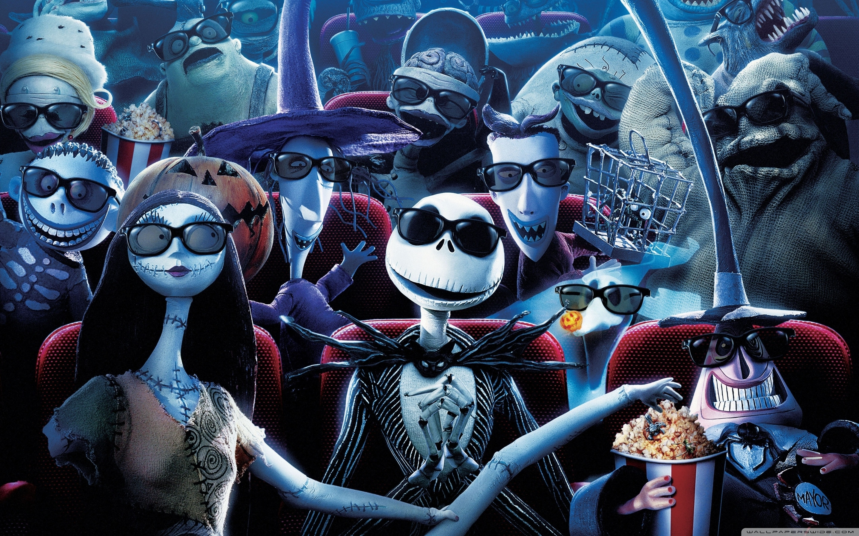 nightmare before christmas ❤ 4k hd desktop wallpaper for 4k ultra