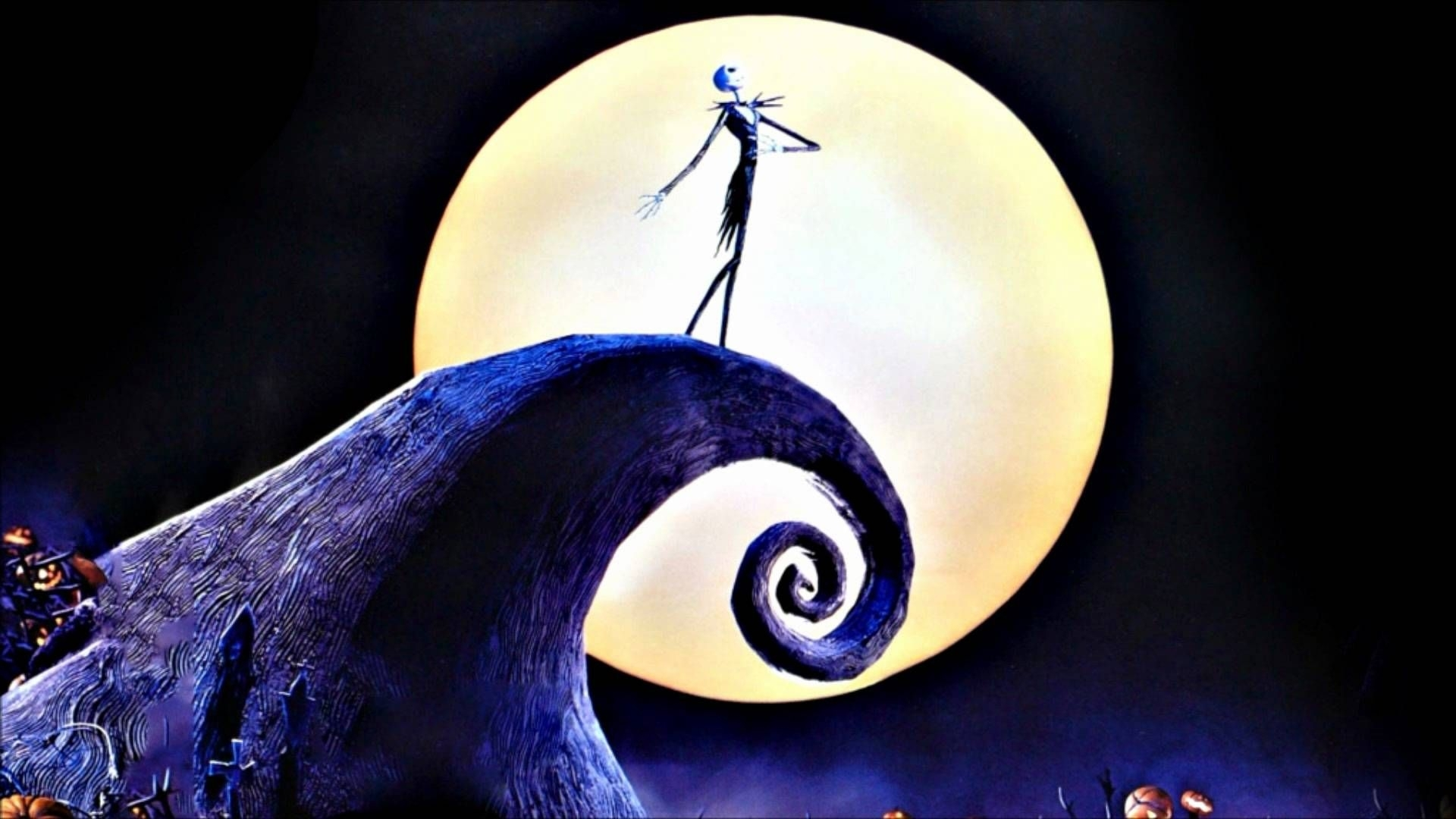 nightmare before christmas halloween wallpapers hd wallpaper for