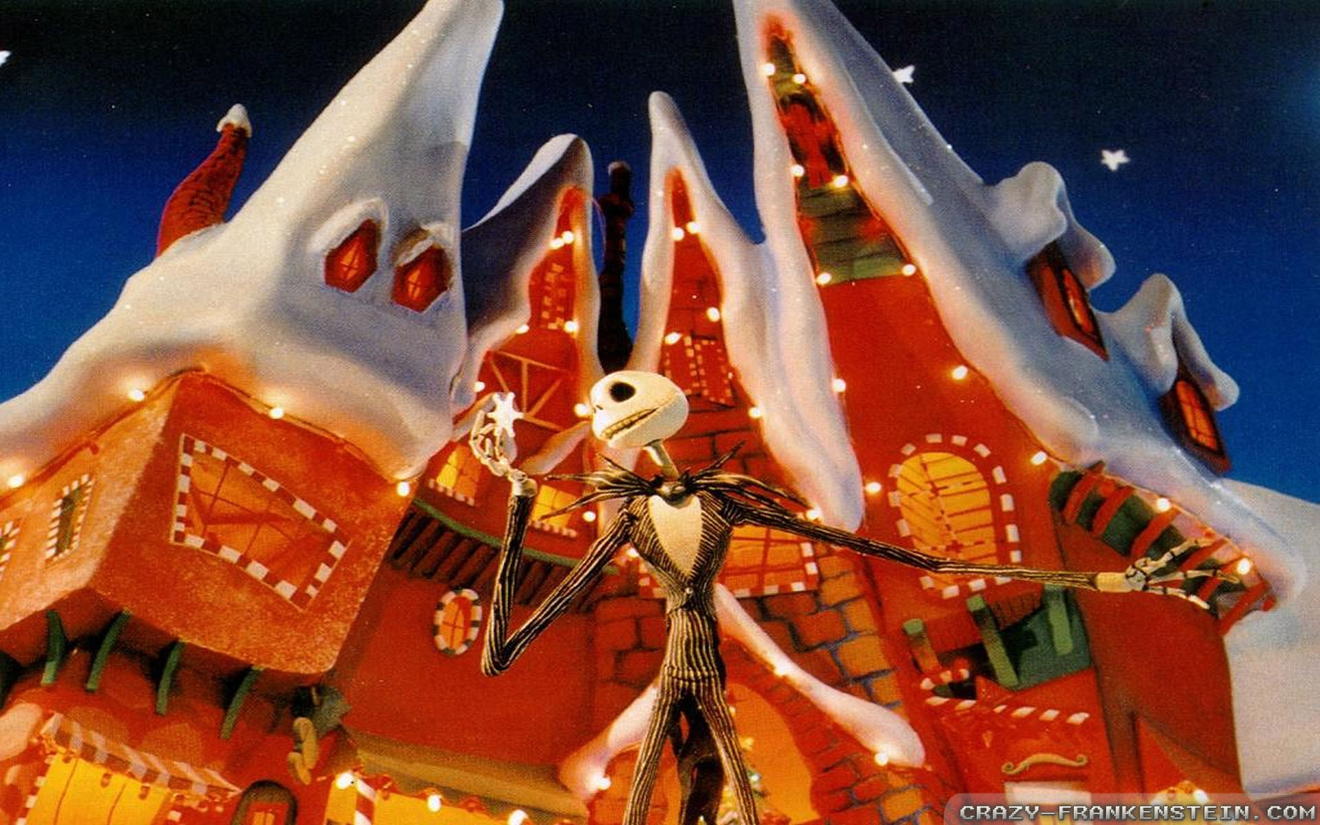 nightmare before christmas wallpapers 2 - crazy frankenstein