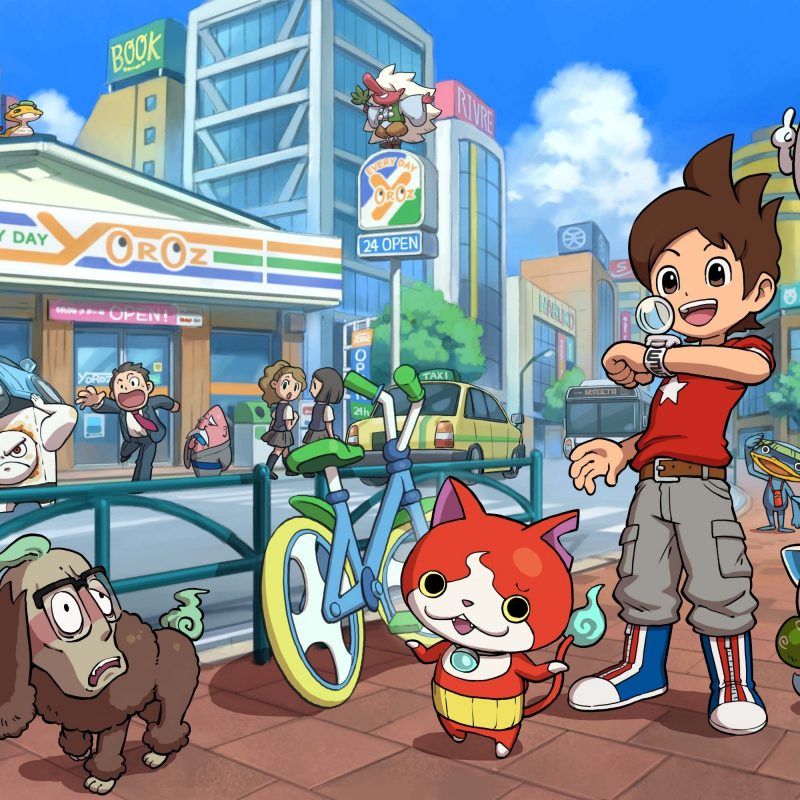 10 Most Popular Yo Kai Watch Wallpaper FULL HD 1080p For PC Background 2020 free download nintendos yo kai watch is a love letter to urban life 1 800x800