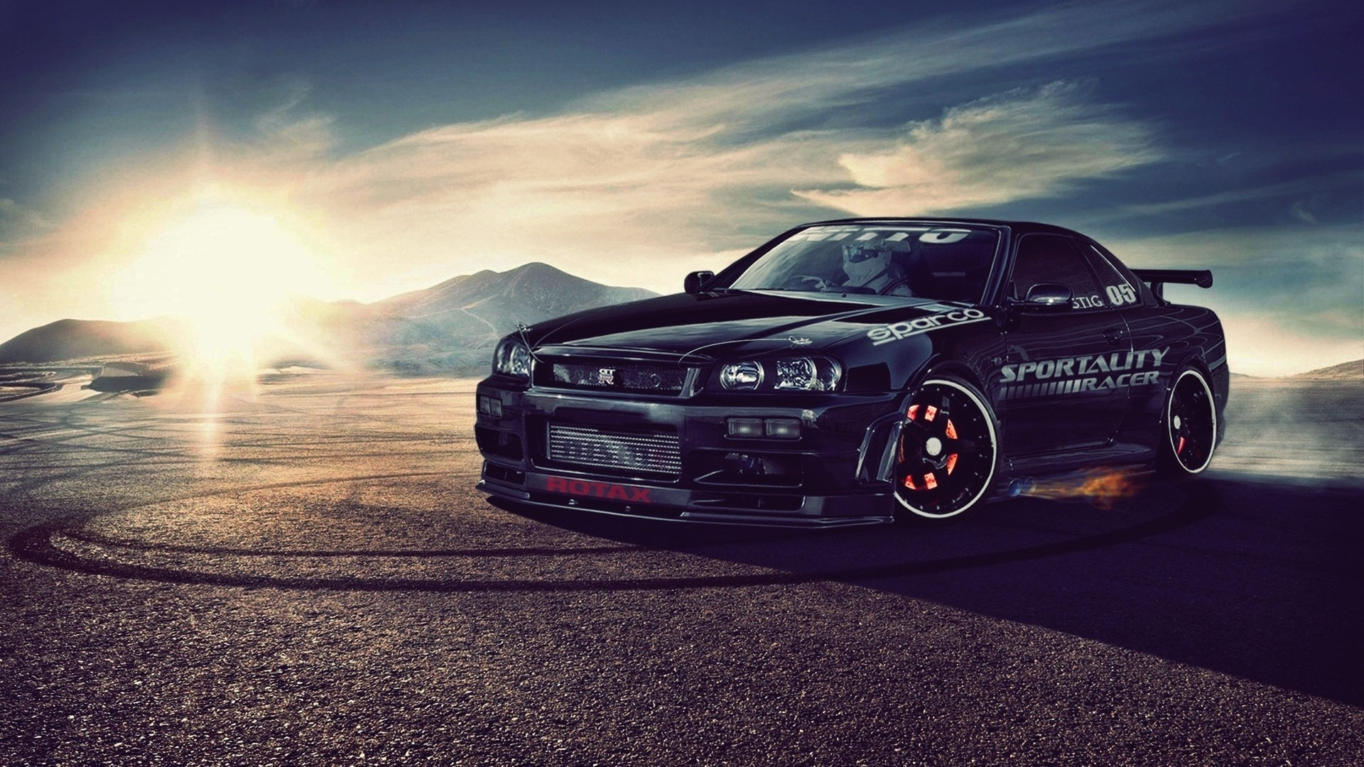 nissan skyline r34 gt-r papier peint | allwallpaper.in #15526 | pc | fr