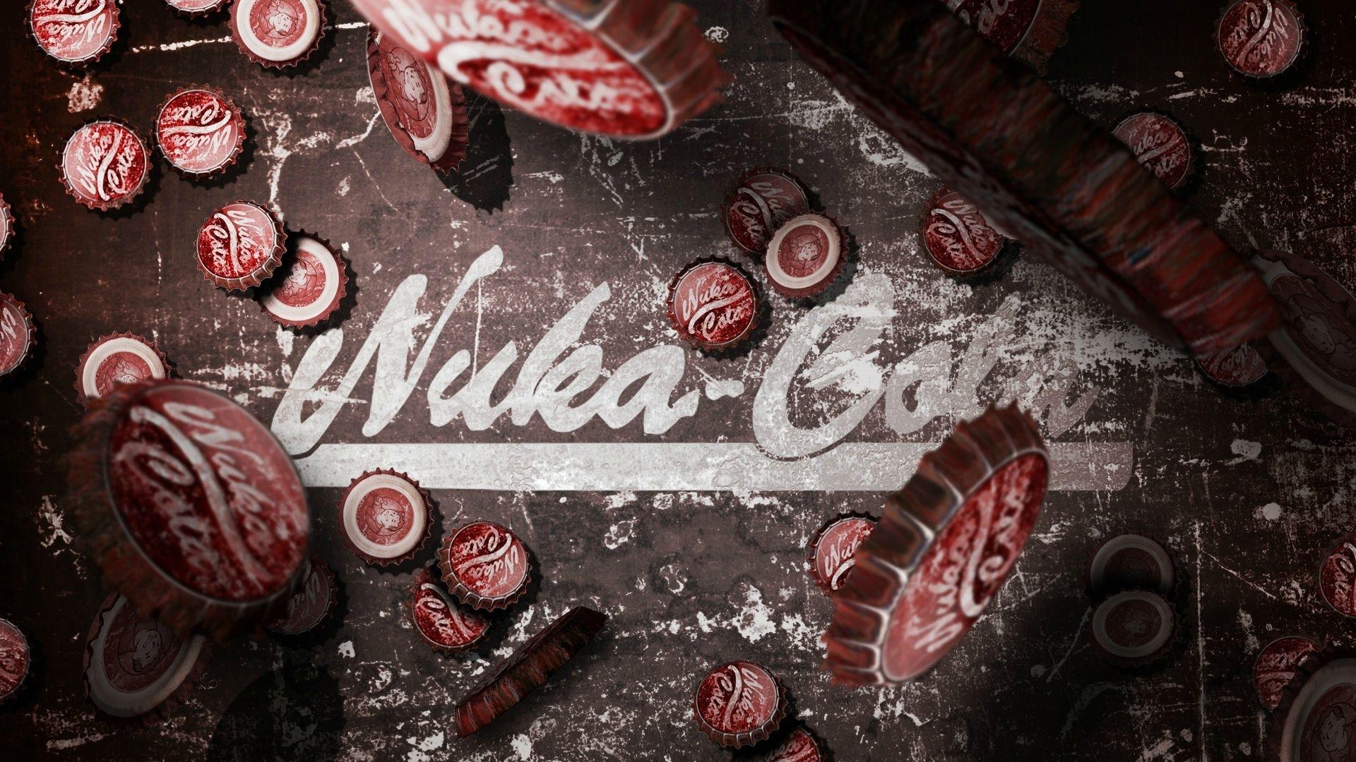 nuka-cola wallpaper : fallout