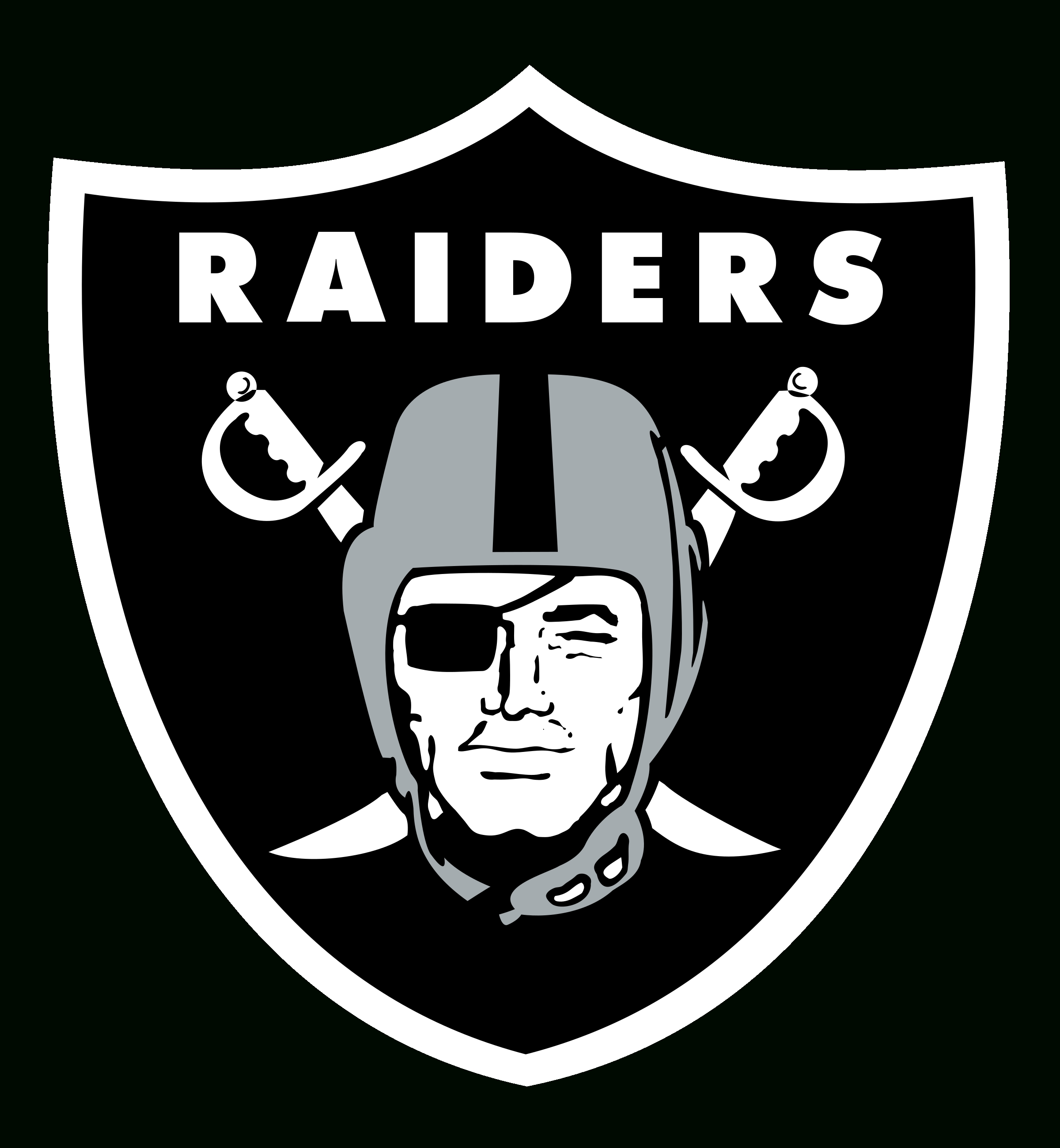 oakland raiders logo png transparent & svg vector - freebie supply
