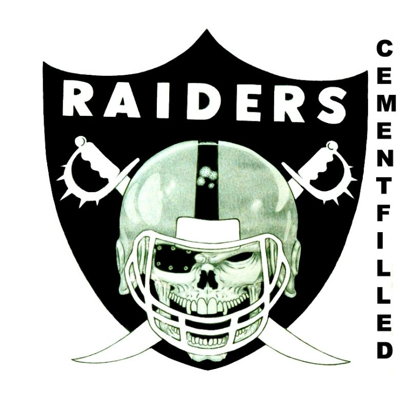 10 Latest Oakland Raider Logo Images FULL HD 1920×1080 For PC Background 2018 free download oakland raiders logocementfilled photo 1 800x800