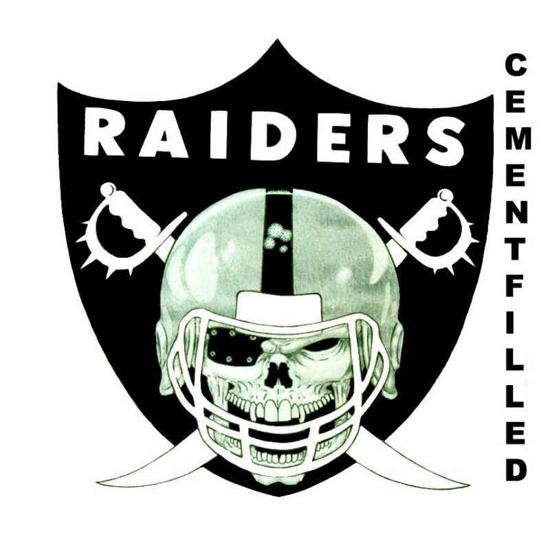 10 Top Oakland Raiders Logos Images FULL HD 1080p For PC Background 2018 free download oakland raiders logocementfilled raiders pinterest oakland 800x800
