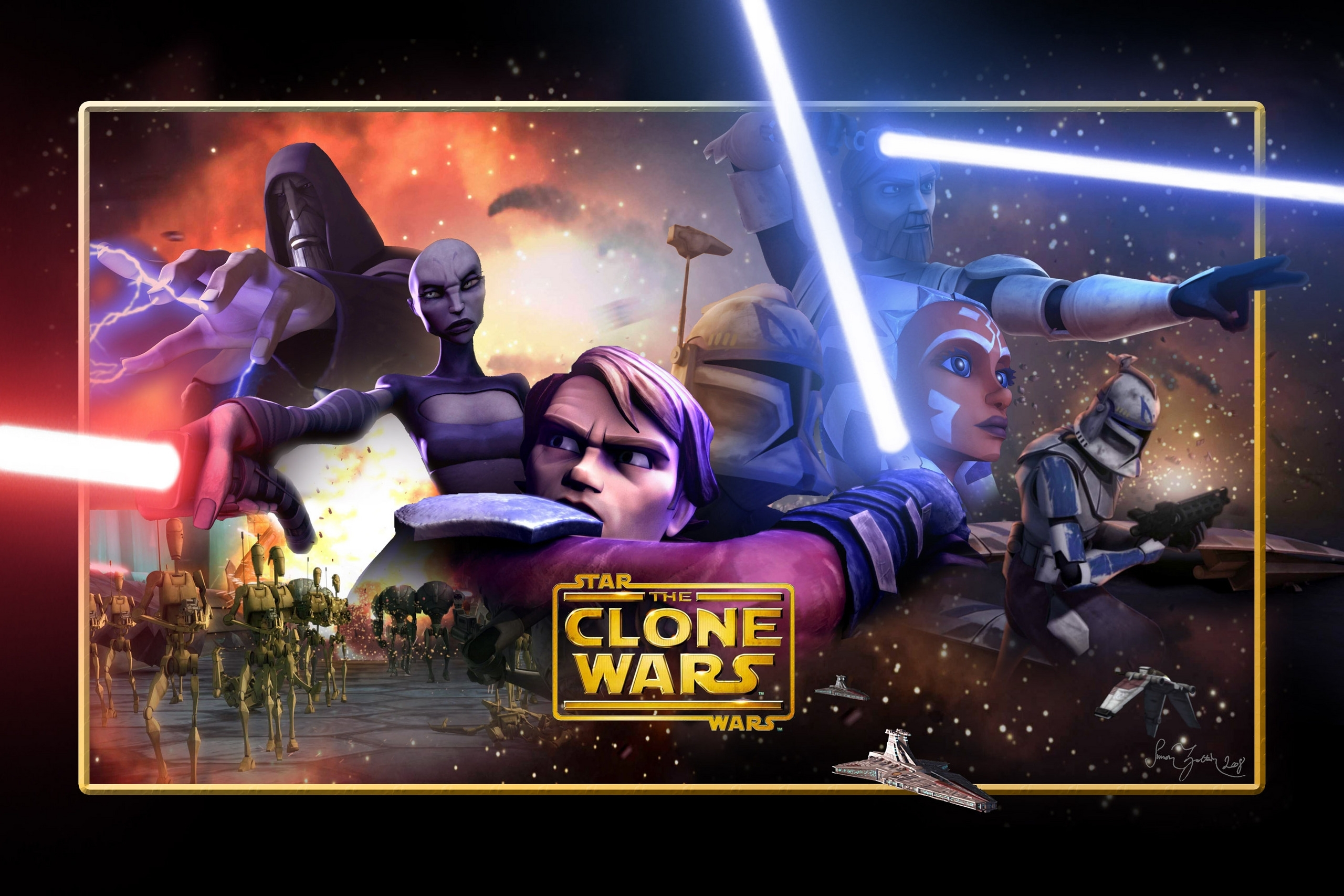 10 Latest The Clone Wars Wallpaper FULL HD 1920×1080 For PC Desktop